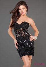 Jovani Cocktail 900.  Available in Black/Silver