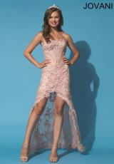 Jovani 92545.  Available in Blush, Turquoise