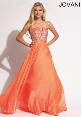 Jovani 88446.  Available in Orange, Pink, Royal