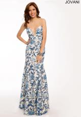 Jovani 21993.  Available in Blue/White