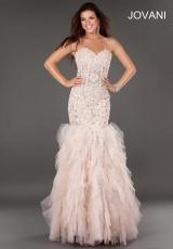 Jovani 1531.  Available in Blush, Turquoise, White