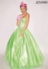 Jovani 153069.  Available in Blush, Hot Orange, Lime