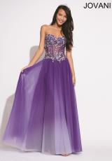 Jovani 938.  Available in Coral/Ombre, Purple/Ombre
