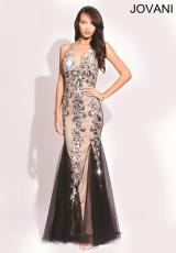 Jovani 79062.  Available in Black/Silver