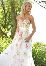 Jovani 92630.  Available in Ivory/Multi
