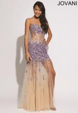 Jovani 88463.  Available in Blush, Purple