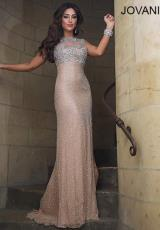Jovani 2971.  Available in Nude/Silver