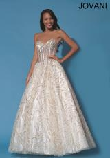 Jovani 88176.  Available in Ivory/Gold