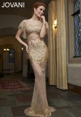 Jovani 77530.  Available in Nude