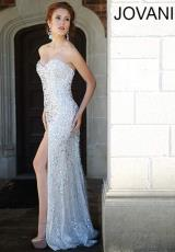 Jovani 78651.  Available in Ivory