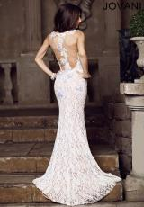 Jovani 89408.  Available in Ivory, Watermelon
