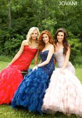 Jovani 92526.  Available in Black, Blush, Ivory, Lilac, Navy, Red