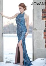Jovani 93181.  Available in Teal/Nude