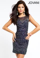 Jovani Cocktail 20451.  Available in Navy