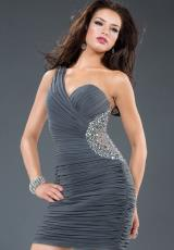 Jovani Cocktail 90359.  Available in Grey