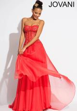 Jovani 72745.  Available in Blush, Coral