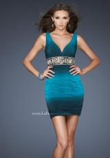 La Femme 18703.  Available in Teal Black