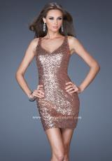 La Femme Short 19423.  Available in Copper