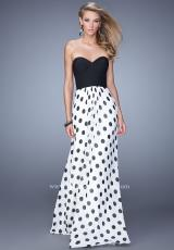 La Femme 21359.  Available in White/Black