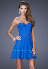 La Femme Short 20573.  Available in Electric Blue, Hot Coral, Light Mint