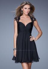La Femme Short 20682.  Available in Black, Electric Blue, Majestic Purple