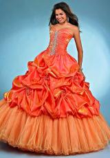 Landa Quinceanera AQ18.  Available in Tangerine