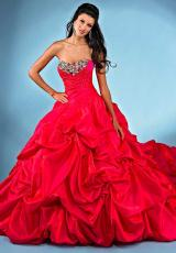 Landa Quinceanera AQ21.  Available in Fuchsia