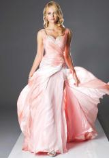 Landa Pageant US811.  Available in Peach Ombre