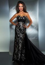 MacDuggal 78439M.  Available in Black/Nude, Ivory/Nude, Red/Nude