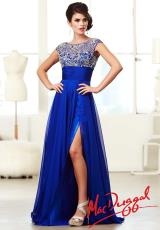 MacDuggal 10008M.  Available in Nude/Silver, Royal