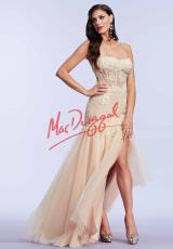 MacDuggal Cocktail 10036M.  Available in Buttercup, Hot Fuchsia