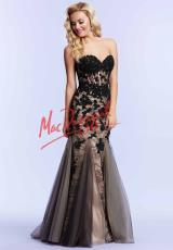 MacDuggal 10055M.  Available in Black/Nude, Lemon/Multi