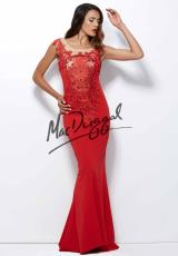 MacDuggal 20005R.  Available in Black/Nude, Red/Nude
