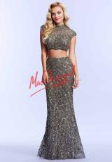 MacDuggal Cocktail 4152M.  Available in Black, Platinum/Gold, Royal