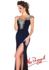 MacDuggal 61702R.  Available in Black/Silver, Deep Purple