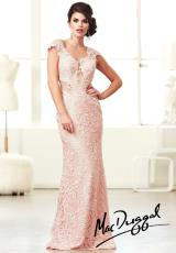 MacDuggal 61707M.  Available in Blush, Ivory/Nude