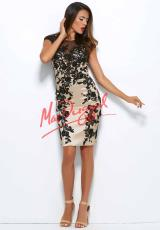 MacDuggal 62092R.  Available in Nude/Black