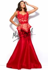 MacDuggal 62096R.  Available in Black/Nude, Red/Nude