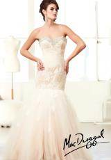 MacDuggal Cocktail 64557H.  Available in Ivory/Nude