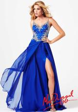 MacDuggal 64701M.  Available in Nude/Silver, Royal