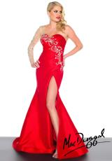 MacDuggal 76592R.  Available in Black/Nude, Red/Nude