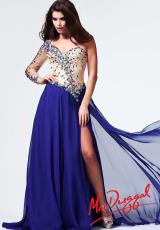 MacDuggal 82028M.  Available in Royal/Nude