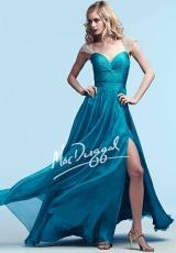 MacDuggal 82072Y.  Available in Peacock, White/Silver