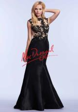 MacDuggal Cocktail 82405M.  Available in Black/Nude