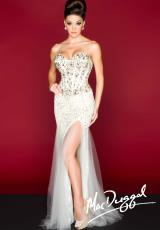 MacDuggal 85304R.  Available in Ivory/Nude