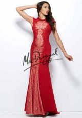 MacDuggal 93500R.  Available in Black/Nude, Red/Nude