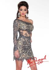 MacDuggal Cocktail 61381R.  Available in Smoke/Nude