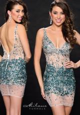 Milano Formals E1763.  Available in Turquoise