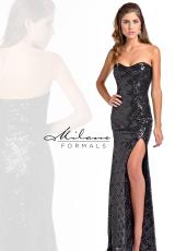 Milano Formals E1825.  Available in Black