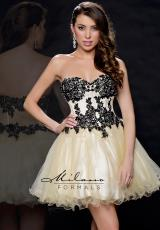 Milano Formals E1725.  Available in Black/Nude